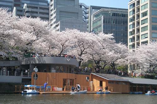 東京都千鳥ヶ淵ボート場