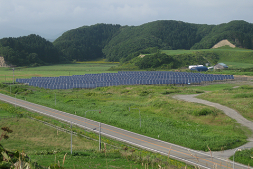 北海道某メガソーラー発電基礎